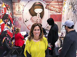 April 26, 2017 - Tokyo, Japan - Pilar Fernadez-Vega Feijoo of El Ocho Licencias y Promociones at the Licensing Expo 2017 at Tokyo Big Sight Japan Wednesday April 26, 2017. Photo by: Ramiro Agustin Vargas Tabares (Credit Image: © Ramiro Agustin Vargas Tabares via ZUMA Wire)