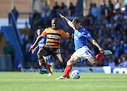 Portsmouth's  Michael Doyle during the Sky Bet League 2 match between Portsmouth and Barnet at Fratton Park, Portsmouth, England on 12 September 2015. Photo by David Charbit.