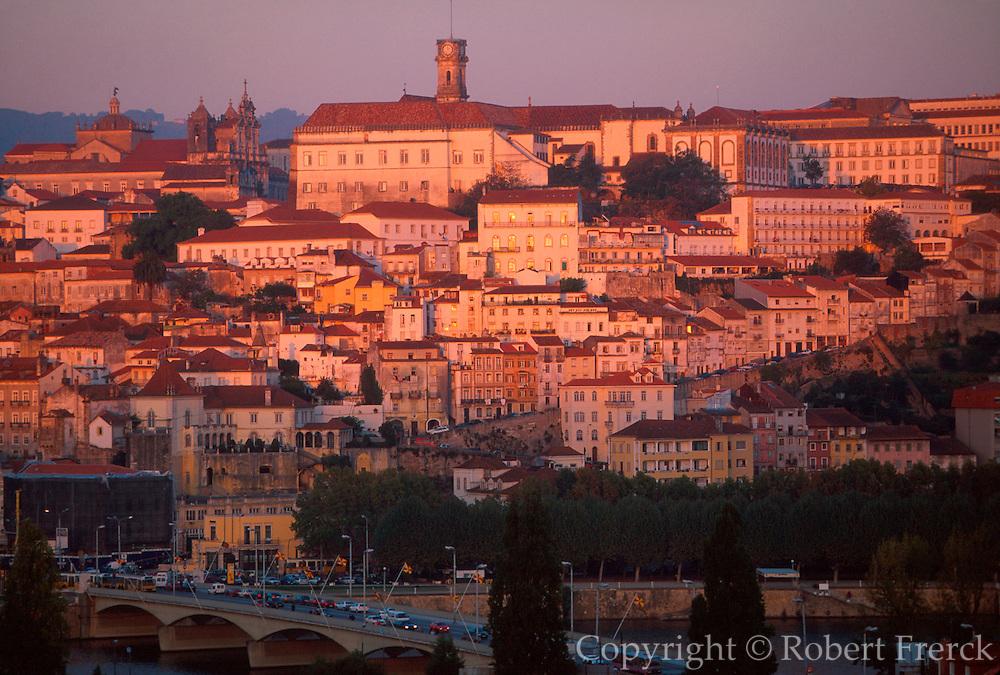 PORTUGAL, COIMBRA Portugal's oldest University; skyline