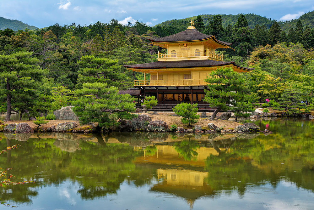 Kinkaku-ji, Golden Temple, Kyoto, Japan
