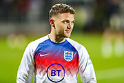 England defender Kieran Trippier during the UEFA European 2020 Qualifier match between Kosovo and England at the Fadil Vokrri Stadium, Pristina, Kosovo on 17 November 2019.