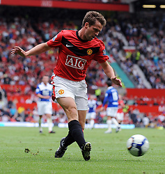Michael Owen of Manchester United 2in action during the Barclays Premier League match between Manchester United and Birmingham City at Old Trafford on August 16, 2009 in Manchester, England.