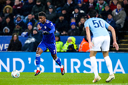 Demarai Gray of Leicester City - Mandatory by-line: Robbie Stephenson/JMP - 18/12/2018 - FOOTBALL - King Power Stadium - Leicester, England - Leicester City v Manchester City - Carabao Cup Quarter Finals