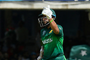50 - Imam-ul-Haq of Pakistan gives a thumbs up as he celebrates scoring a half century during the ICC Cricket World Cup 2019 match between Pakistan and Bangladesh at Lord's Cricket Ground, St John's Wood, United Kingdom on 5 July 2019.