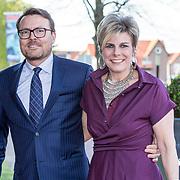 NLD/Amersfoort/20190415 - Koningsdagconcert in Amersfoort, Prins Constantijn en Prinses Laurentien