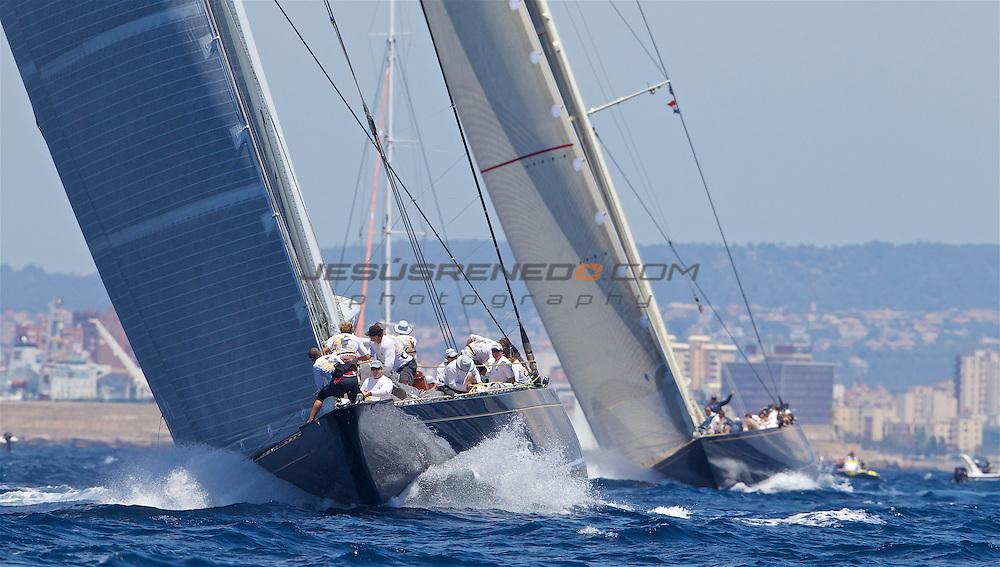 The SuperYacht Cup 2013,day 4 coastal race , ©jrenedo
