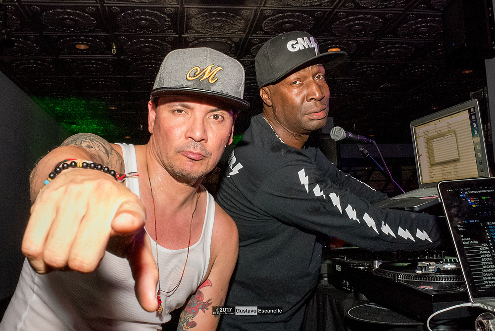 Grand Master Flash and Mix Master Mike from the Beastie Boys performing at the Tales of The Cocktails Jaegermeister party on Saturday, July22, 2017 at Bourbon Vieux.