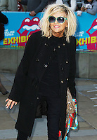 Annie Nightingale, The Rolling Stones Exhibitionism - Opening Night Gala, Saatchi Gallery, London UK, 04 April 2016, Photo by Brett D. Cove