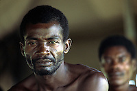 ca. April 1980, Pensacola, Florida, USA --- Haitian Refugee --- Image by © Owen Franken/CORBIS
