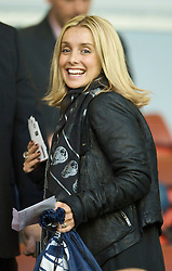 LIVERPOOL, ENGLAND - Thursday, May 14, 2009: Louise Redknapp, wife of former Liverpool player Jamie Redknapp during the Hillsborough Memorial Charity Game at Anfield. (Photo by David Rawcliffe/Propaganda)