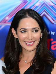 Image ©Licensed to i-Images Picture Agency. 27/08/2014. London, United Kingdom. Lauren Silverman arriving for the launch of the new series of The X Factor. Picture by Nils Jorgensen / i-Images