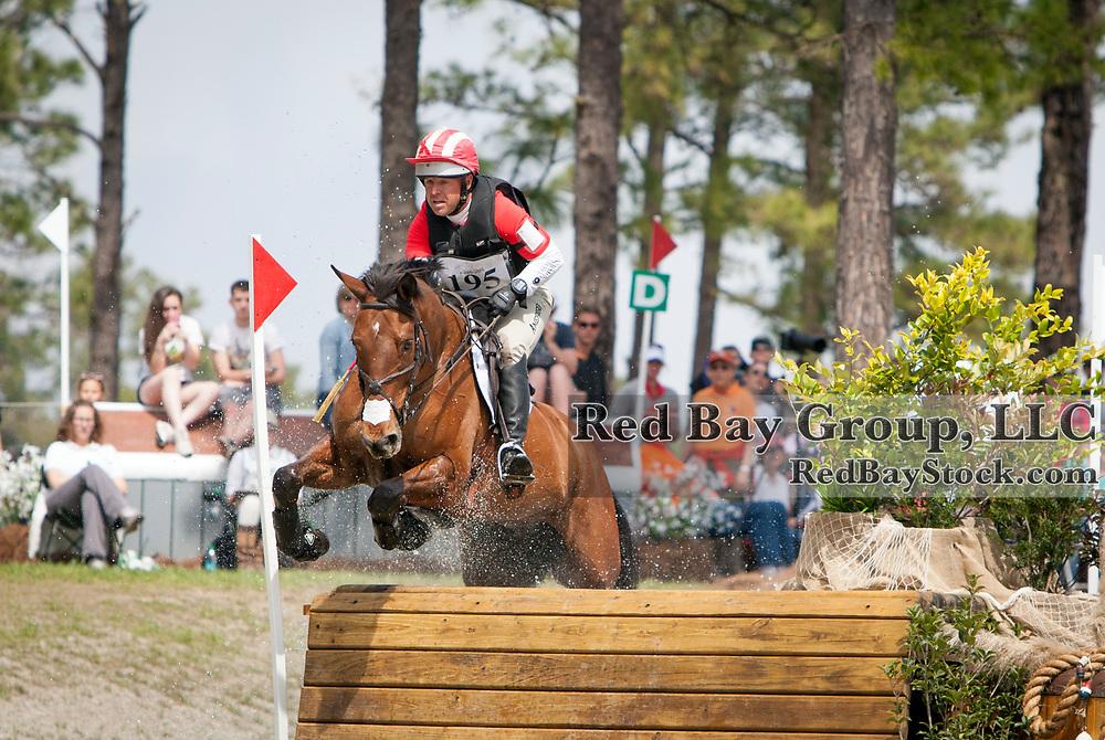 Buck Davidson (USA) and Ballynoecastle RM at the Carolina International in Raeford, North Carolina.