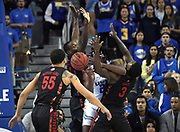 Nov 15, 2019; Los Angeles, CA, USA; in the first half at Pauley Pavilion. UCLA defeated UNLV 71-54.