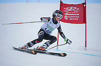 Gus Pitou U12 boys 2107 Gunstock Ski Club.  ©2017 Karen Bobotas Photographer