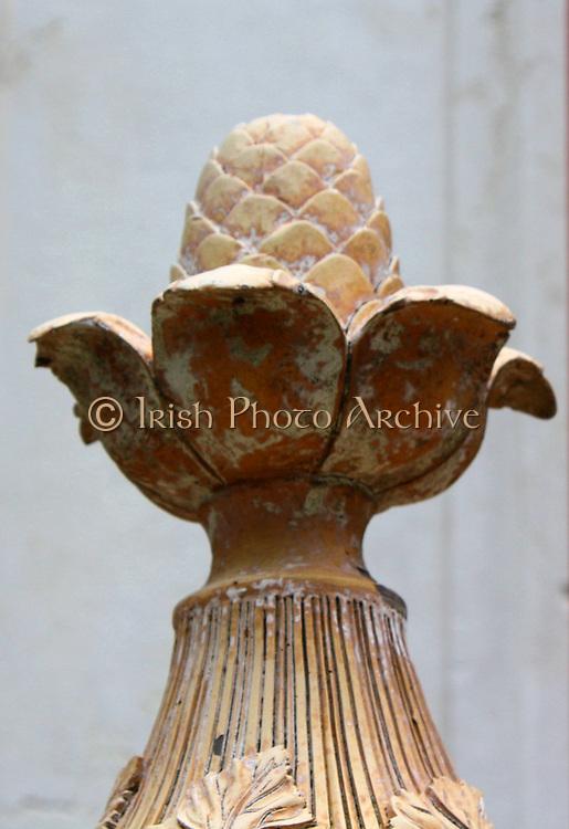 Decorative Stone Carving 2013. Acorn.