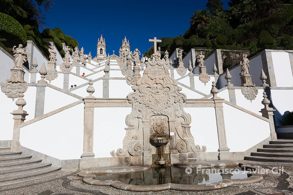 Bom Jesus do Monte, Braga, Nord, Portugal