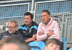 Ciaran McDonald watching on during the Mayo U14 Championship finals at MacHale park last week.<br />