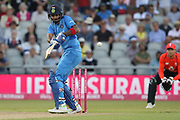 KL Rahul during the International T20 match between England and India at Old Trafford, Manchester, England on 3 July 2018. Picture by George Franks.