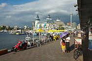 Fisherman's Wharf ?????? and Lover's Bridge, in Danshui, Taiwan.