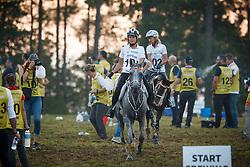 Schuiten Louna, Boulanger Carine, BEL, Sabah du Courtisot<br /> World Equestrian Games - Tryon 2018<br /> © Hippo Foto - Sharon Vandeput<br /> 12/09/2018