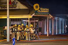 Tauranga-Police investigate midnight fire at Greerton Fruit shop