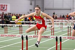 BU Terrier Indoor track meet<br /> 60 hurdles, Boston U