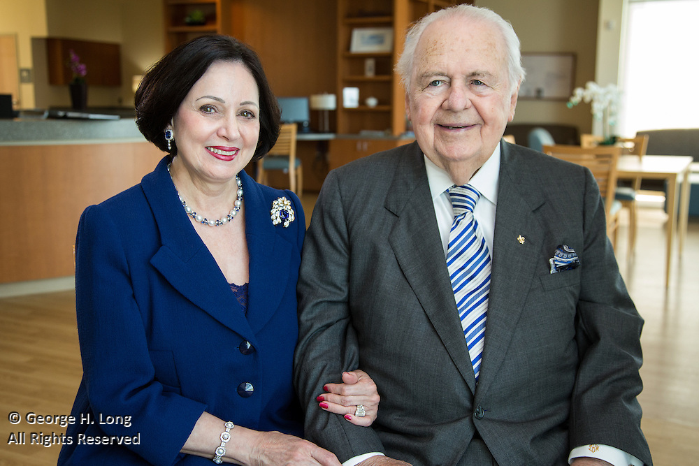 Tom and Gayle Benson Cancer Center at Ochsner Hospital in Jefferson, Louisiana on August 28, 2015
