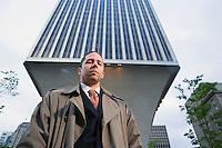 Portrait of Roger Kohn, an attorney in Seattle, Washington.