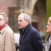 NLD/Utrecht/20140215 - Herdenkingsdienst Els Borst in de Domkerk,  Alexander Rinnooy Kan en Job Cohen