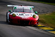 August 17-19 2018: IMSA Weathertech Michelin GT Challenge at VIR. 58 Wright Motorsports, Porsche 911 GT3 R, Patrick Long, Christina Nielsen