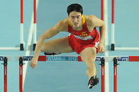 ATHLETICS - WORLD CHAMPIONSHIPS INDOOR 2012 - ISTANBUL (TUR) 09 to 11/03/2012 - PHOTO : STEPHANE KEMPINAIRE / KMSP / DPPI - <br /> 60 M HURDLES - MEN - ROUND 1 - LIU XIANG (CHN)