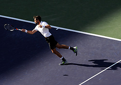 March 14, 2018 - Idian Wells, USA - Indian Wells - Palm Desert - California -Jeremy Chardy France (Credit Image: © Panoramic via ZUMA Press)