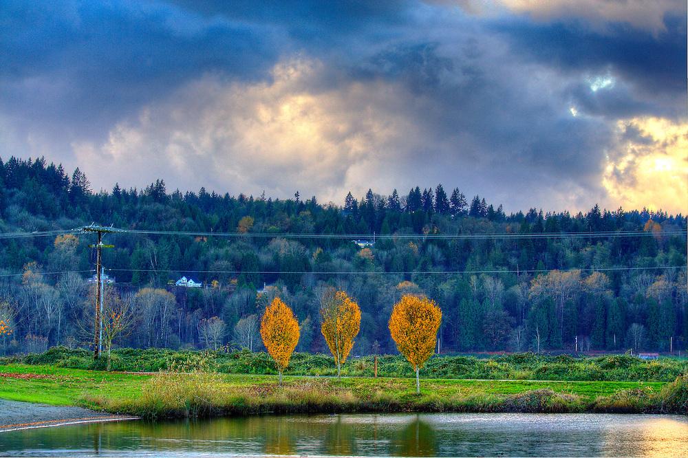 Tye Lake, Monroe, Washington