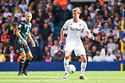 Leeds United forward Patrick Bamford (9) during the EFL Sky Bet Championship match between Leeds United and Swansea City at Elland Road, Leeds, England on 31 August 2019.