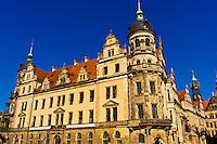 Architecture, Schlosstrasse, Dresden, Saxony, Germany