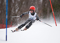 J4 boys second run of slalom during  BWL Championships at Gunstock Mountain Resort March 13, 2010....