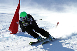 Alan Vidovic of Slovenia at FIS World Cup Ski cross race, on December 20, 2009 in Innichen / San Candido, Italy. (Photo by Grega Stopar)