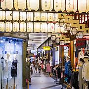 THA/Bangkok/201607111 - Vakantie Thailand 2016 Bangkok, Lampionnen in de straten van Bangkok