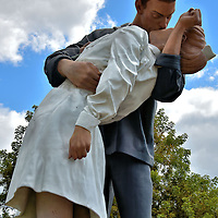Unconditional Surrender Statue in Sarasota, Florida<br />