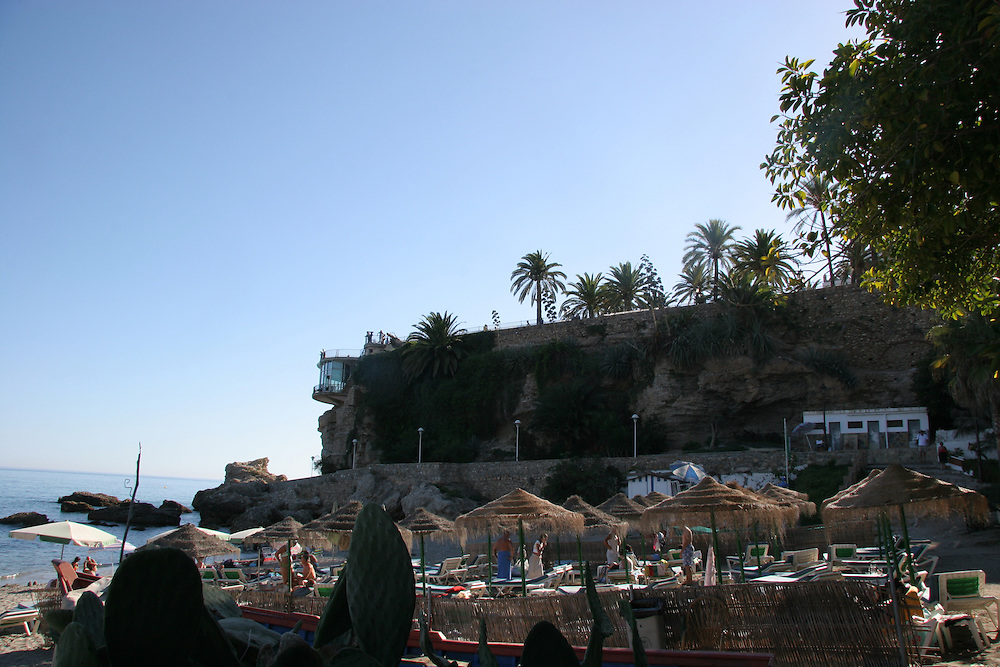 Nerja,  Balcon de Europa, Costa del Sol, Spain