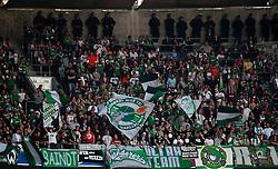 11.09.2010, Allianz Arena, München, GER, 1. FBL, FC Bayern München vs Werder Bremen, im Bild Fanblock der Bremer, EXPA Pictures © 2010, PhotoCredit: EXPA/ J. Feichter