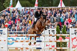 EMMES Judith (GER), Aida Fox<br /> Warendorf - Bundeschampionate 2019<br /> Springprüfung Kl. S mit Stechen<br /> Finale 7 jährige Pferde<br /> 07. September 2019<br /> © www.sportfotos-lafrentz.de/Stefan Lafrentz