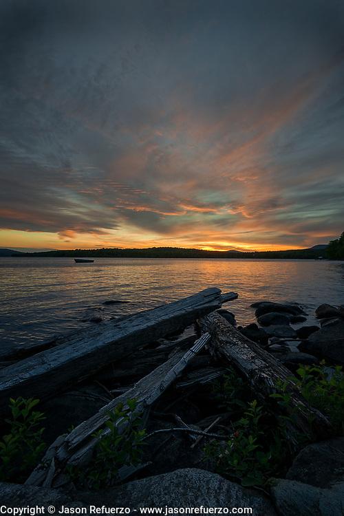Sunset on Rangley Lake