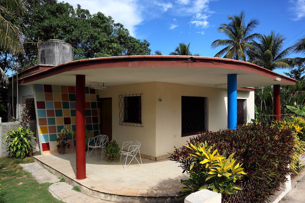 House in Santa Cruz del Norte, Mayabeque, Cuba.