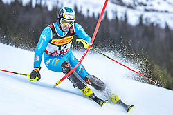 17.02.2019, Aare, SWE, FIS Weltmeisterschaften Ski Alpin, Slalom, Herren, 1. Lauf, im Bild Manfred Moelgg (ITA) // Manfred Moelgg of Italy in action during his 1st run of men's Slalom of FIS Ski World Championships 2019. Aare, Sweden on 2019/02/17. EXPA Pictures © 2019, PhotoCredit: EXPA/ Dominik Angerer