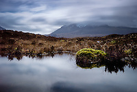 SCOTLAND - CIRCA APRIL 2016: Countryside landscape in Skye an Island in Scotland