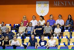 Slavko Ivezic, Miro Pozun during handball match between RK Celje Pivovarna Lasko and RK Gorenje Velenje in Last Round of 1. Liga NLB 2016/17, on June 2, 2017 in Arena Zlatorog, Celje, Slovenia. Photo by Vid Ponikvar / Sportida