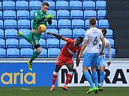 Coventry v Gillingham - 18 Feb 2017