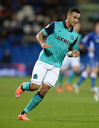 Blackburn Rovers's Joshua King - Photo mandatory by-line: Alex James/JMP - Mobile: 07966 386802 - 17/02/2015 - SPORT - Football - Cardiff - Cardiff City Stadium - Cardiff City v Blackburn Rovers - Sky Bet Championship