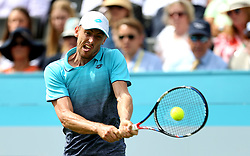 Australia's John Millman during day two of the Fever-Tree Championship at the Queens Club, London.
